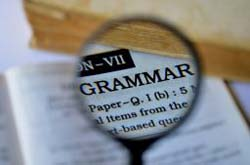 Course: Grammar Lists
